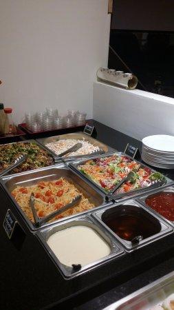 Erstein, Francja: buffet froid