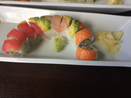 Fortuna, CA: Rainbow roll