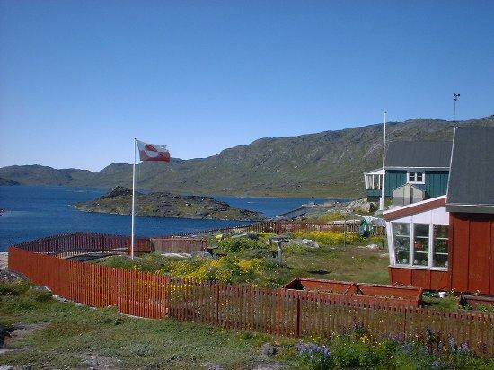 Qaqortoq, Groenland : Naboens flag