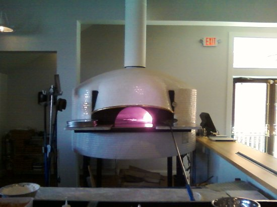 Hamburg, NY: The Pizza oven