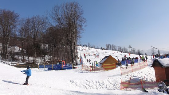 The ski resort of Nowa Osada
