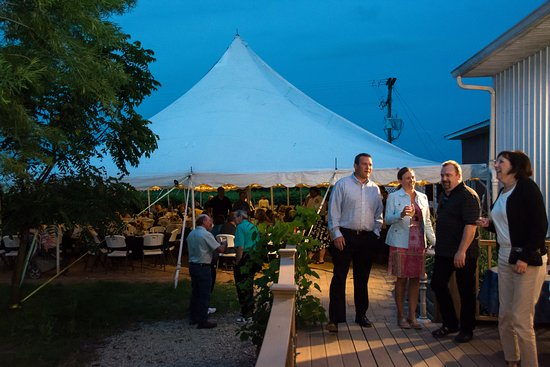 New Prague, MN: Next Chapter Winery Event Tent