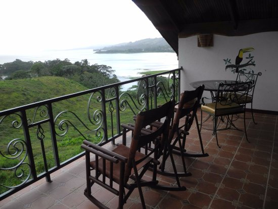 Nuevo Arenal, Costa Rica: View from 'Honeymoon' suite