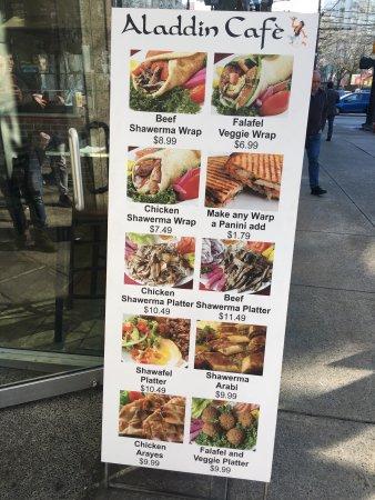 Aladdin Restaurant Vancouver