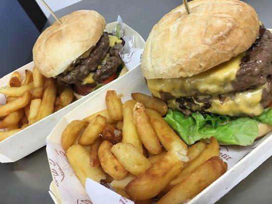 Vieux-Boucau-les-Bains, Франция: Nouveau repère des amoureux su vrai burger