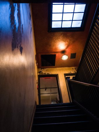 Harold Black ...with an old staircase under a skylight. All the & with an old staircase under a skylight. All the doors are locked ...