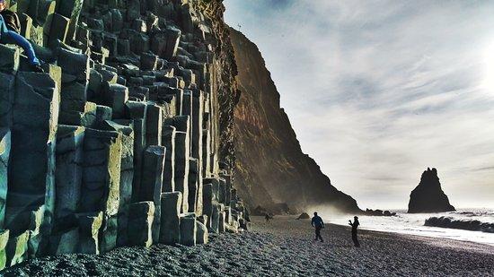 Península sur, Islandia: Rock Formations