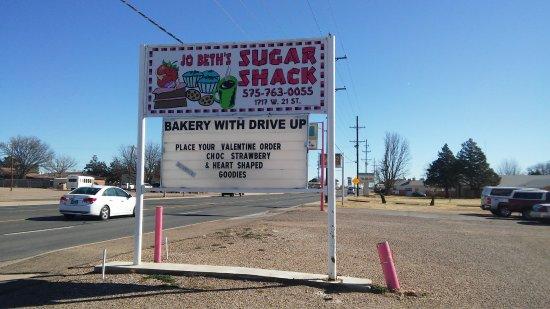 Clovis, NM: Sign