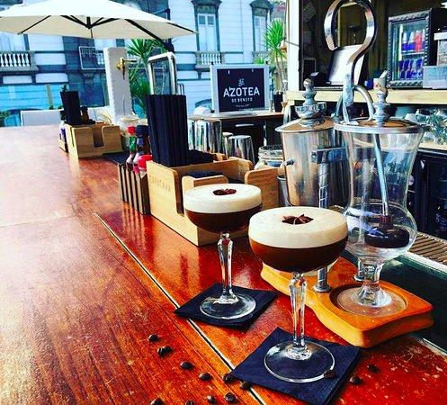 Cocktail Mexpresso La Azotea De Benito Cocktail Bar