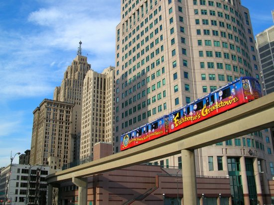 Detroit People Mover: Rolling throughout downtown Detroit, seven days a week.
