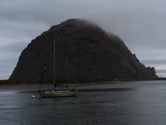 Morro Bay, Califórnia: Yep, that's a rock