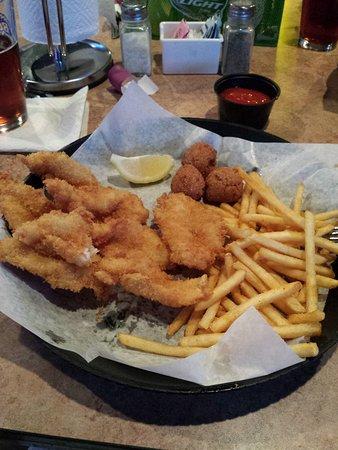 Seagrove Beach, FL: Fried shrimp