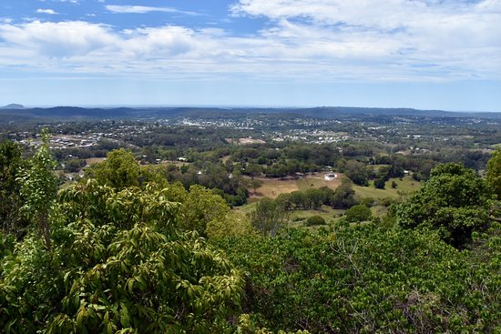 Nambour, Australien: View from Dulong Lookout to the Sunshine Coast