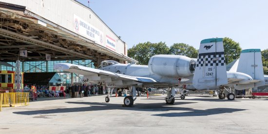 Farmingdale, NY: The American Airpower Museum has one of the best museum A-10 displays in the USA.