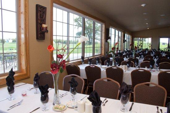 Saint Cloud, Minnesota: Wedding Setup - Banquet Room