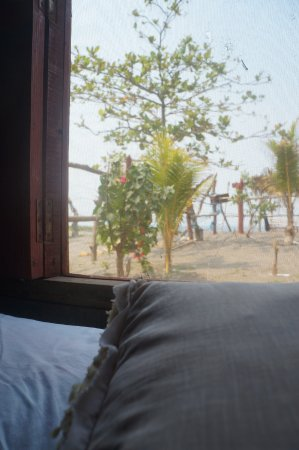 Las Penitas, نيكاراجوا: View from the private room