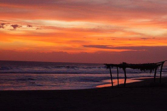 Las Penitas, نيكاراجوا: Another beautiful sunset