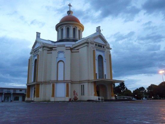 Farroupilha, RS: Santuário de Nossa Senhora do Caravaggio.