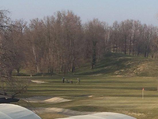 Cavaglia, Italy: Vu sur le golf