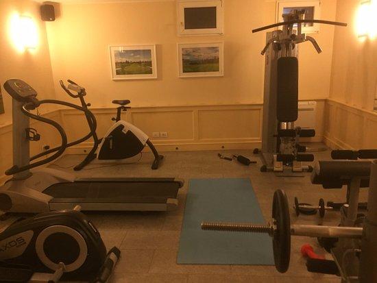 Cavaglia, Italië: Salle de fitness