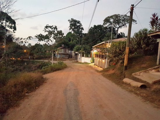 Cabinas Pura Vida: road leading away