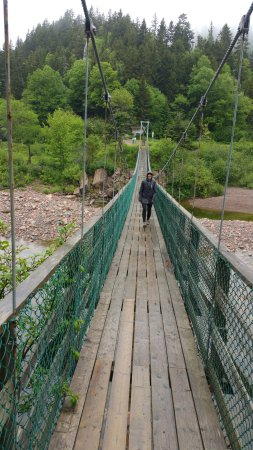 St. Martins, แคนาดา: Suspended Bridge