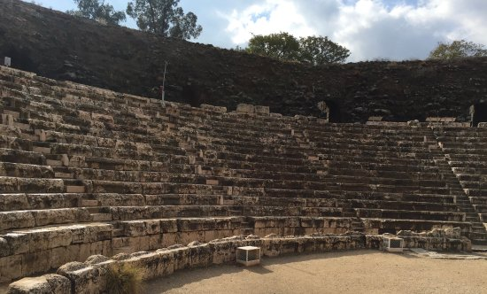 Beit She'an, Israel: theater