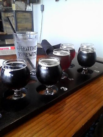 Vancouver, WA: Beer flight