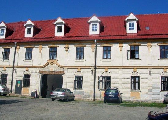 Mohelnice, Republik Ceko: priečelie hotela