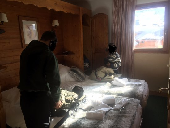 Residence Chalet Altitude : Twin Room Apt Valerie