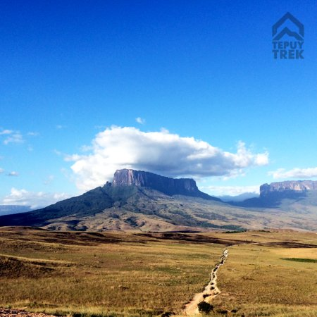 Tepuy Trek: On the first day of our trekking tour to Roraima