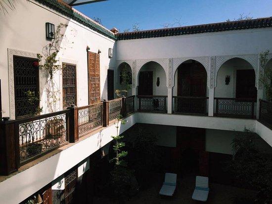 Riad Kasbah : Beautiful balcony rooms (first floor)