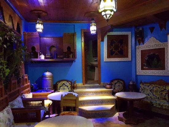 Riad Hiba Meknes: Dining room