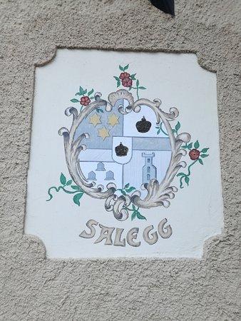 Hotel Salegg: Lo stemma originale di fine 1800