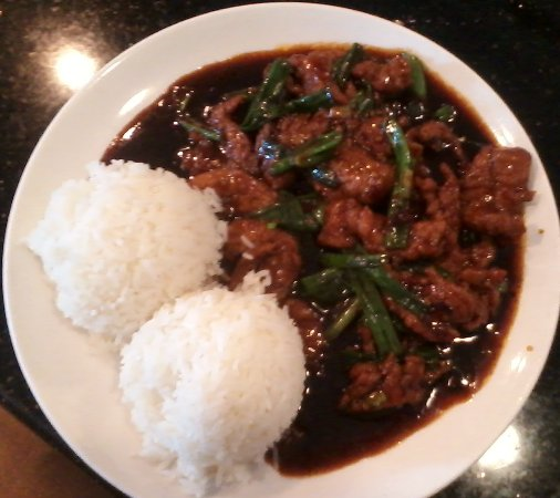 College Station, TX : Mongolian Beef Lunch special