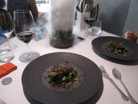 The Fat Duck: Forest scene