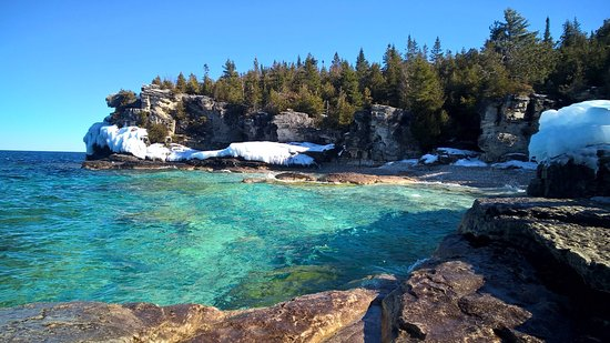 Lion's Head, Канада: La Grotto, Bruce Peninsula National Park