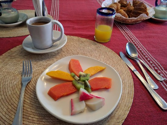 Oaxaca Ollin: breakfast