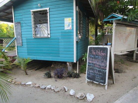 Sea View Suites: We loved the breakfast fryjacks (ham)