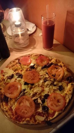 Strand, Южная Африка: Pizza