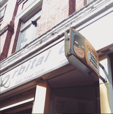 Photo of Tourist Attraction Orbital Comics Ltd at 8 Great Newport Street, London WC2H 7JA, United Kingdom
