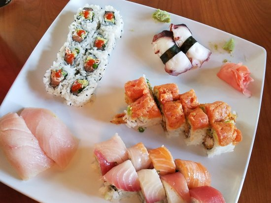 Niceville, FL: Our sushi