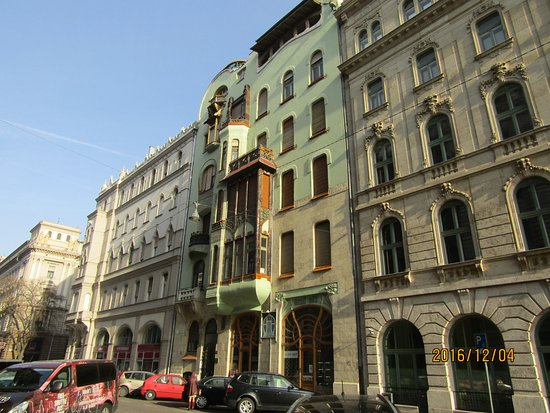 House of Hungarian Art Nouveau (Magyar Szecesszió Háza): House of Hungarian Art Nouveau