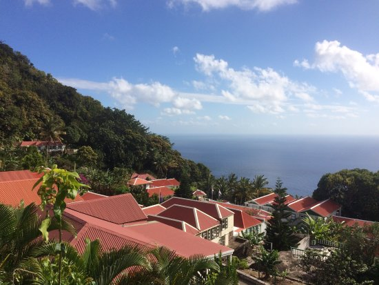 Windwardside, Isla de Saba: Nice view