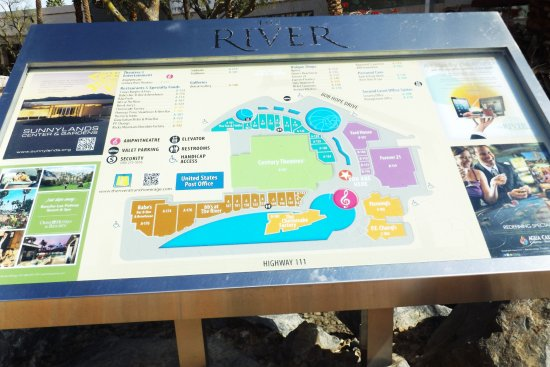 Rancho Mirage, CA: Map of the area