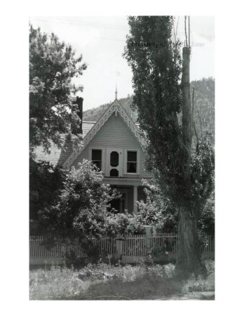 Genoa, NV: Built in 1855, The Pink House was over to its present location in 1870 and painted pink.