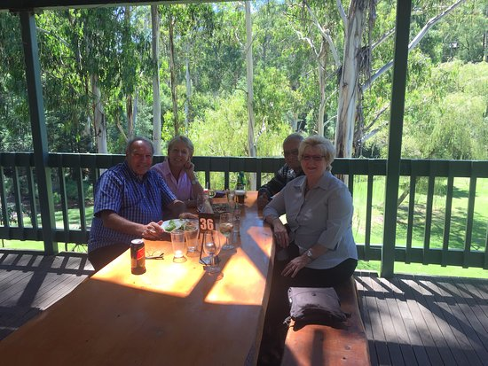 At lunch at the Noojee pub - fantastic