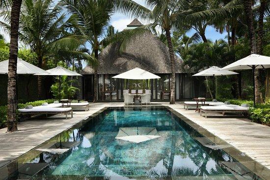 Villa Samuan: Overview of pool area Samuan Siki, 3 bedroom villa