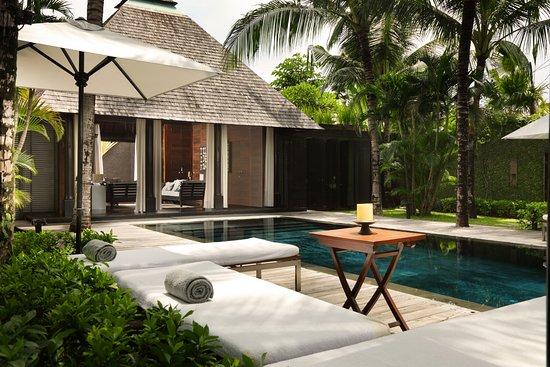 Villa Samuan : Pool area Samuan Siki