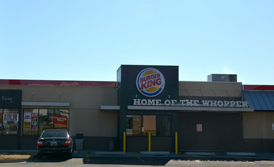 Burger King Long Side Of The Building